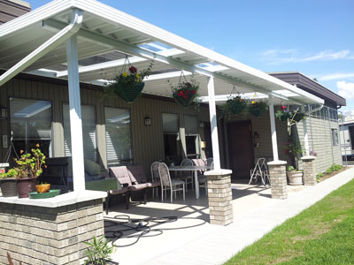 Patio Cover with more outdoor living space