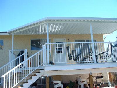 Non Insulated Solid V Pan Roofs Tropicana Sunrooms
