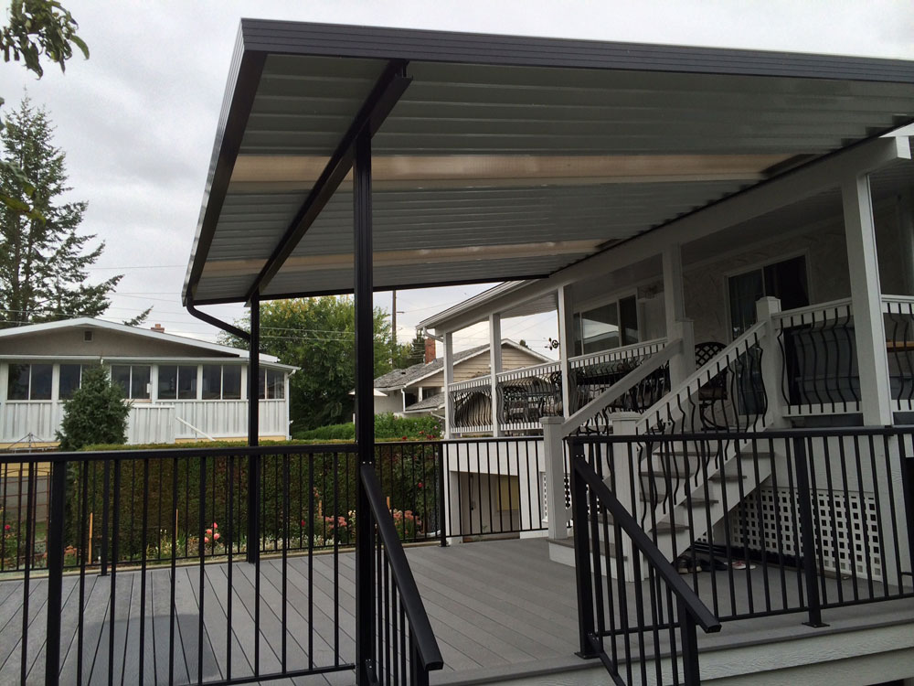 Kelowna Patio Covers And Deck Covers Tropicana Sunrooms
