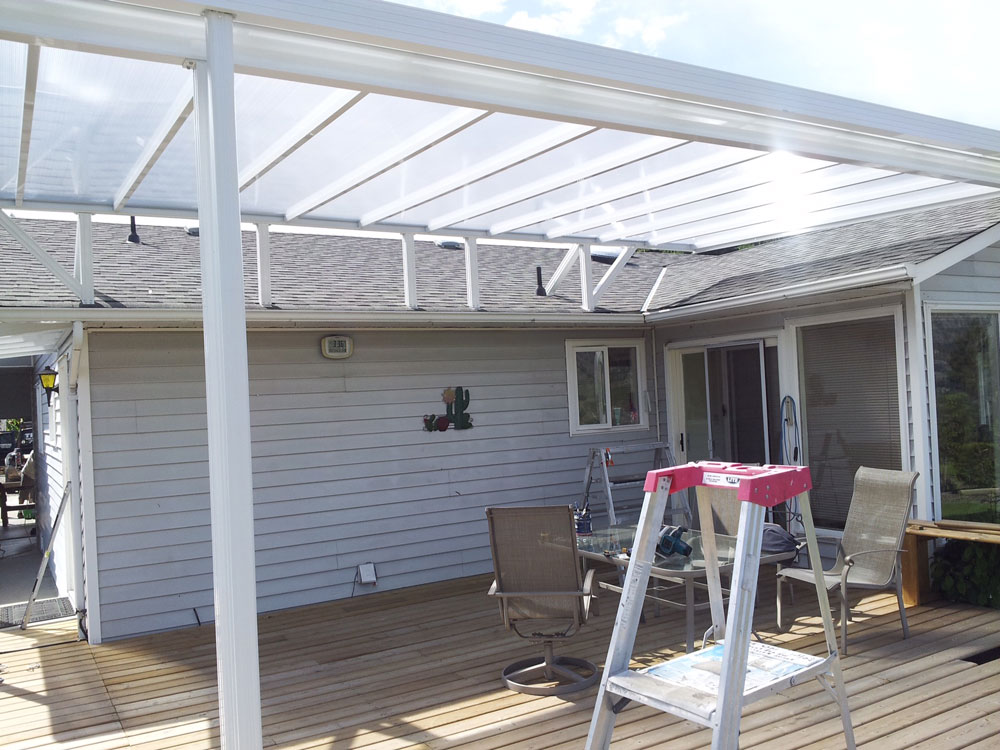 How To Add A Patio Cover Existing Roof Patio Ideas
