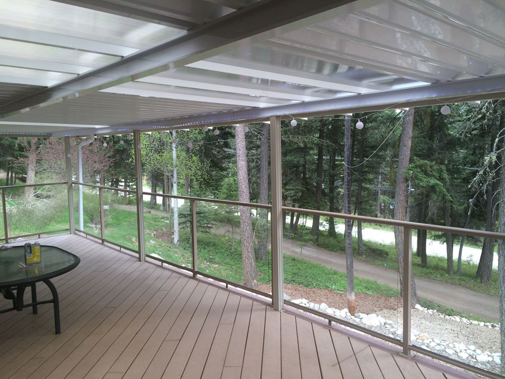 Glass Top Deck Cover
