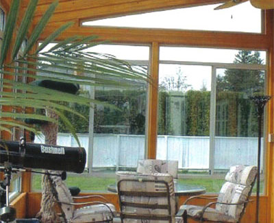 wood sunroom - solarium